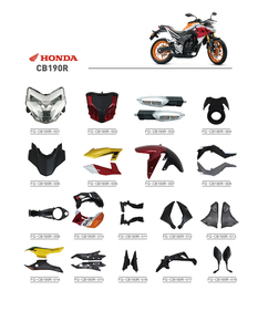 CB190R motorcycle parts/Japan motorcycle spare parts/South America motorcycle parts