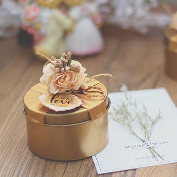 Wedding Favor Sugar Box Tin Wedding Favour Favor Box Diy Box