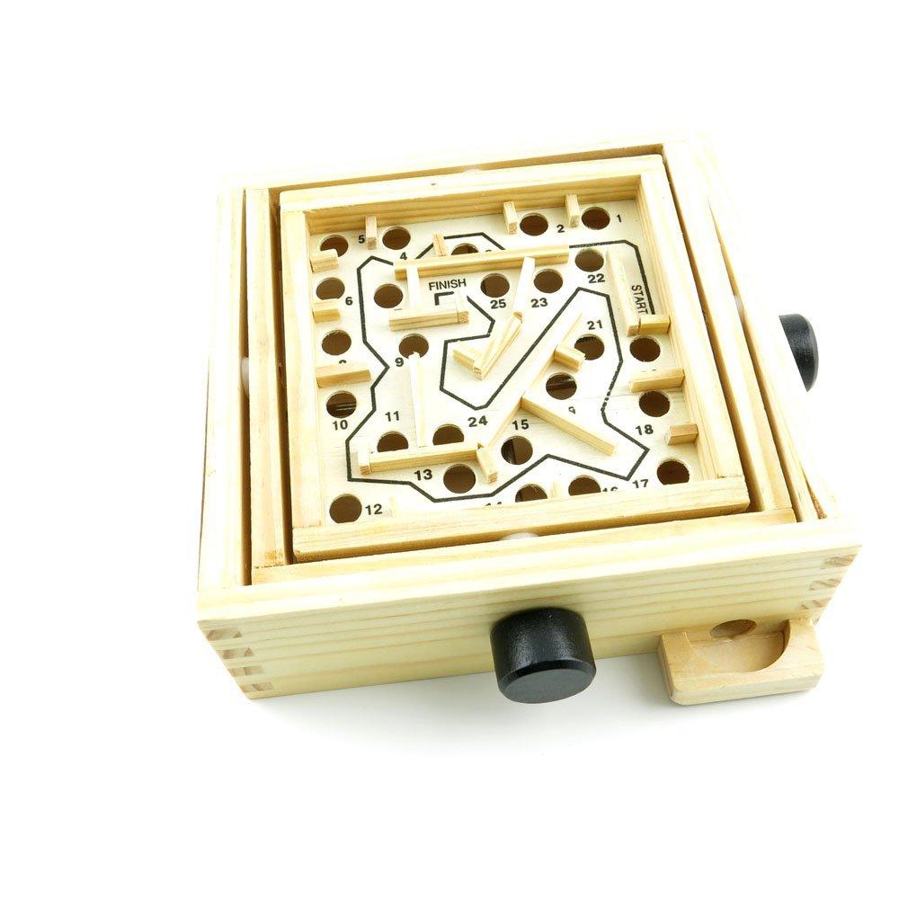 2 PCS Toys Brainteaser Disentanglement Logic Intelligence IQ Educational Puzzle Game WY0214 Maze