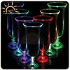 bar accessary decorating idea led hurricane glass plastic for party