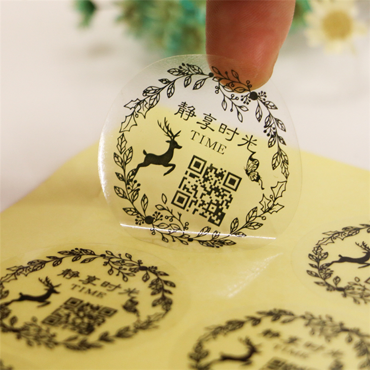 cheap price custom round sticker printing