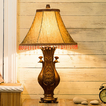 Hot sales modern art high quality hotel bedside led resin table lamp hot sales modern art high quality hotel bedside led resin table lamp aloadofball Images