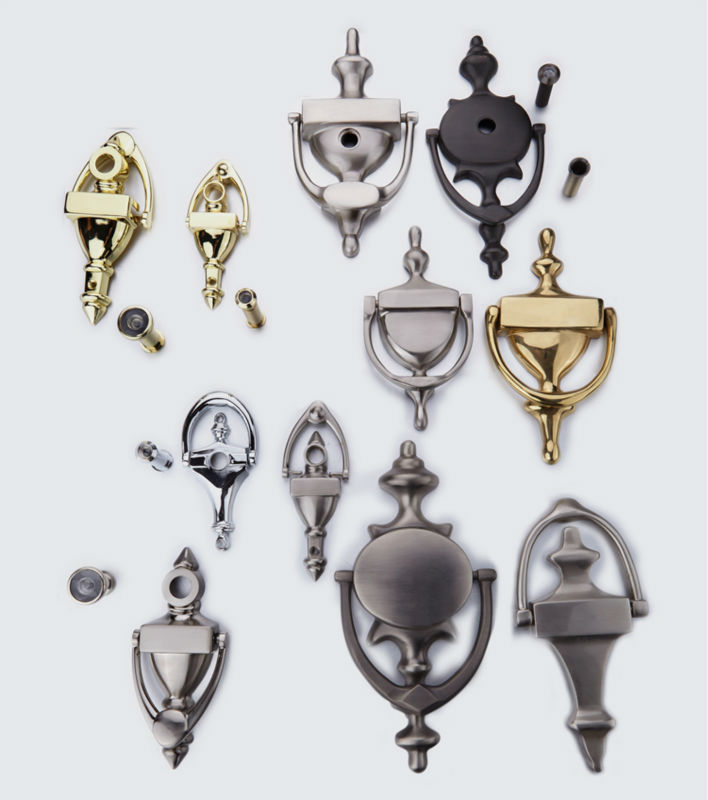 Factory Supply Customize Door Knocker With Peephole Viewer