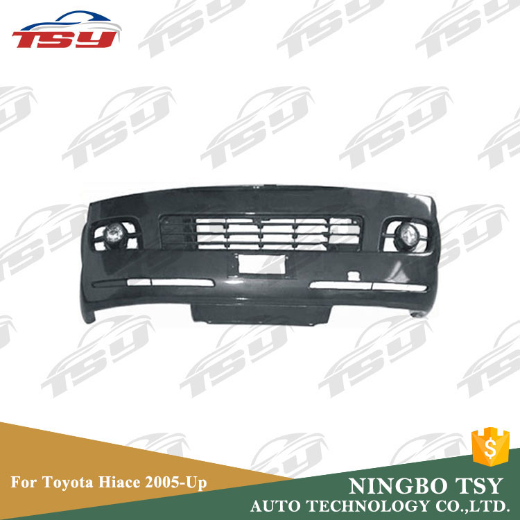 Wholesale Plastic Front Bumper Limited 1695mm For Toyota Hiace 2005-up