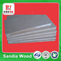 First-Class Wood Fiber 9mm E1 E2 MDF Board Price