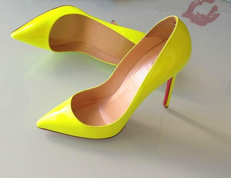 Louboutin Kitten Heel Shoes