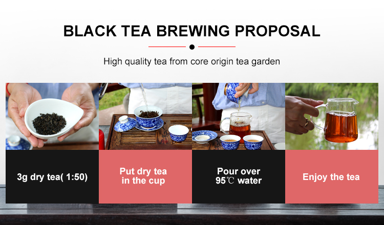 high quality gold leaves english afternoon black tea from china - 4uTea | 4uTea.com