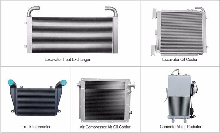 Compact Hydraulic Oil Coolers : Aluminum hitachi hydraulic oil cooler buy