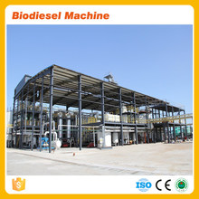 5TPD 10TPD waste vegetable oil to biodiesel plant biodiesel processing plant