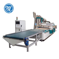 CNC router machine with circle atc and auto feeding system NDM1325ED