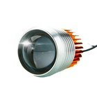 10w led lens 12v flash light motorcycle projector headlights