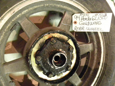 1994 HONDA 1500 GOLD WING REAR WHEEL