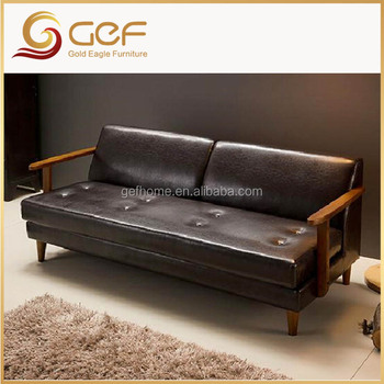 Japanese Style Modern Leather Sofa Set