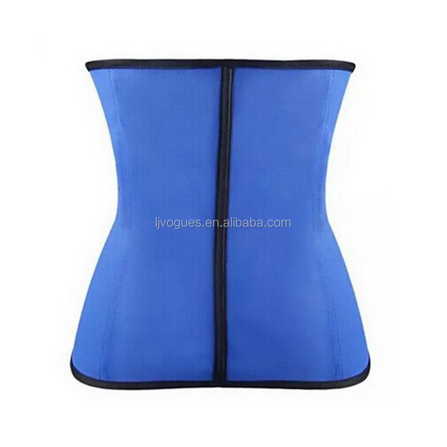 body shaper manufacturer for waist cincher with 100% natrual Latex material and 9 pcs memory alloy steel boned