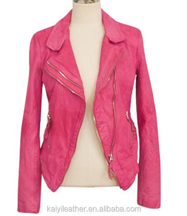 Dark Pink Jacket - JacketIn