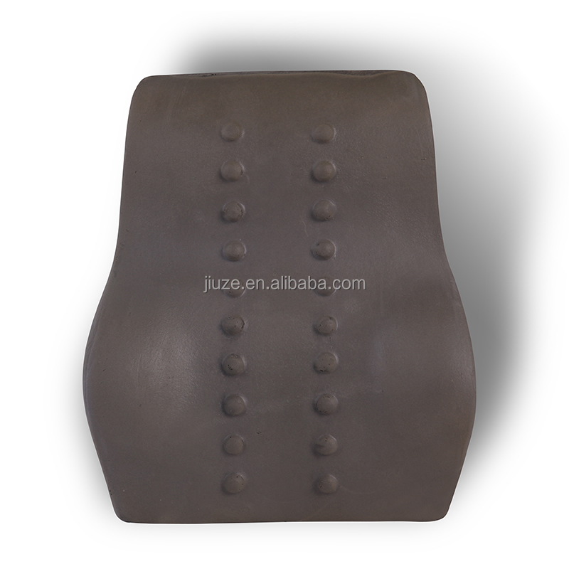 Battery operated vibrating back massage cushion large chair cushions with granules