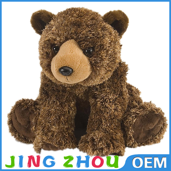 Novelty fluffy stuffed teddy bear for girl