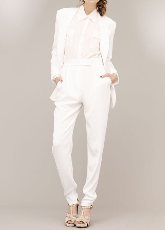 Ladies Stylish Pant Suit Business White Formal Pant Suits - Buy Ladies Stylish Pant SuitLadies ...