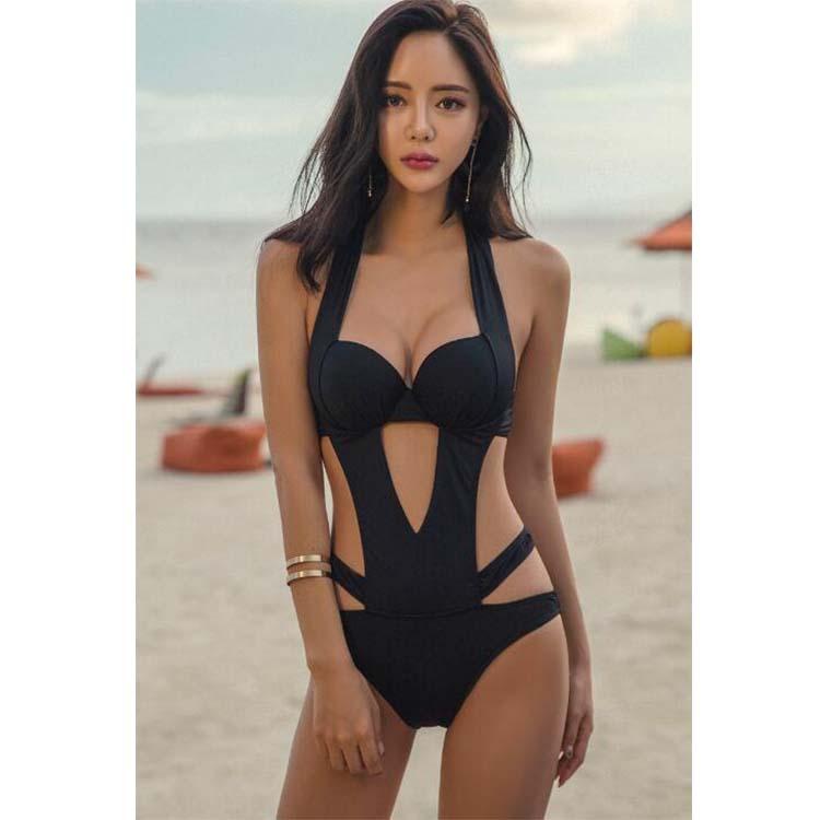 M-XL Hot Extreme Sexy Fashion Black Women Girls Ladies Swimwear Swimsuits