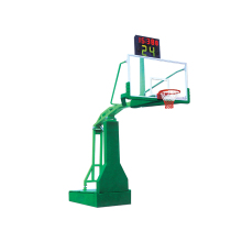Electric hydraulic basketball equipment portable adjustable basketball stand hoop system