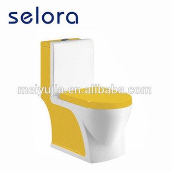 5008Y Popular sanitary ware ceramic one piece colored toilets