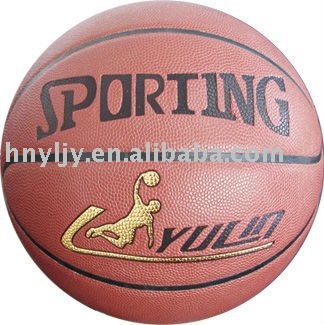 8 panels size 7 cowhide leather basketball for sports match