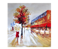 Handpainted 90x90cm Canvas Wall Art Pictures