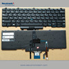 Original New US black backlit keyboard for Dell Latitude E5450 with pointer