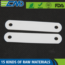 Customized White Color Silicone Silicone Abrasion Proof Strip Shim Plate