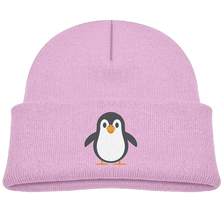 8322e9184ab Get Quotations · EASON-G Kid s Beanie Cute Penguin Cuffed Knit Hat Skull Cap