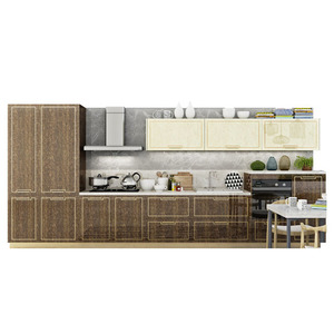 Modern kitchen high gloss cabinets entirety kitchen furniture supplier acrylic kitchen cabinet price
