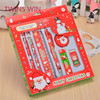 China 2018 Best Selling Luxury back to school cute stationery gift set christmas gifts ruler pencil stationery for student 153