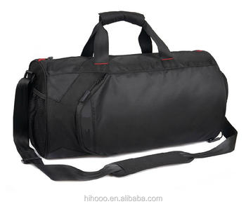 High Volume Waterproof Custom Round Sports Bag With Ball Compartment