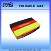190T Polyester Folding Football Fans Seat Cushion for 2016 Euro Cup