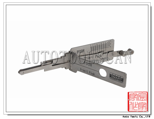 Pick and Decoder FO38 For Ford locksmith tool 2-in-1 LS01011