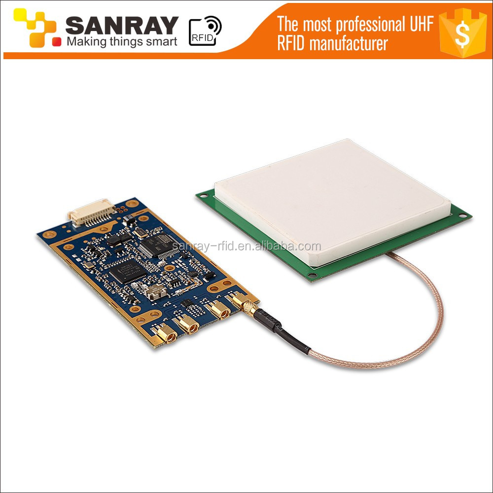 Mini Antenna Ceramics And Tag Long Performance Life Uhf Epc Rfid Board Module Usb Ttl Rs232 Passive Gen2 Long Range Usb Rfid Uhf Reader Writer Module Access Control Cards