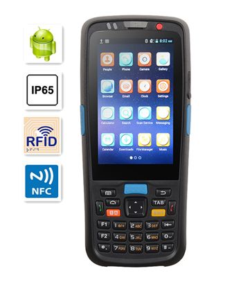 rugged android mobile 3g bluetooth barcode scanner pda terminal TS-5000