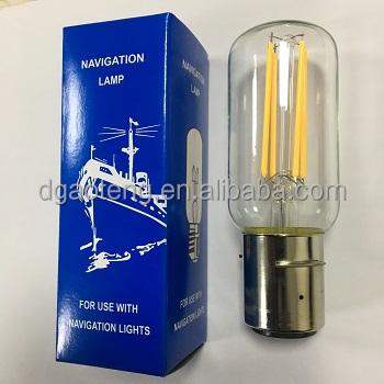 Marine lamp Navigation Signal Lamp E27 B22 P28S LED Filament Bulb