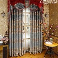 Latest Curtain Designs Blackout Curtain Fabric for the Living Room Window Curtain