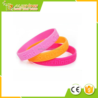 Wholesale High quality promotional gifts Customized Free Silicone rubber Wristbands/Bracelet