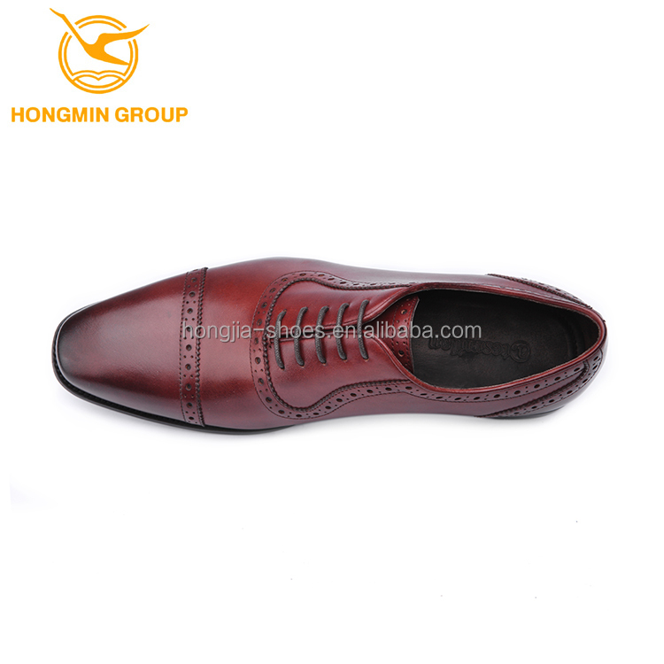 for Hand dress new made man men 2018 oxford style italian genuine leather shoes shoes R7FRr