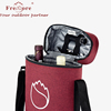 High quality wine tote bag/ 2 bottles wine cooler bag hot sale