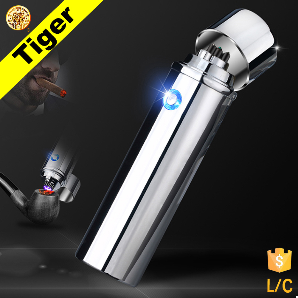Fashion Tiger TR-109 Cheap Custom Usb Lighter Rechargeable Electric Lighter