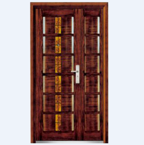bulletproof and fireproof turkey king armored steel wood security door design from china