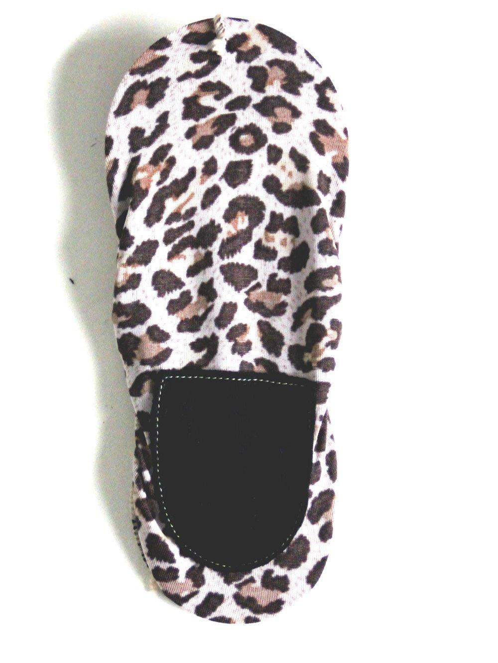 Женское леопардовый зернистость корабль носки 095