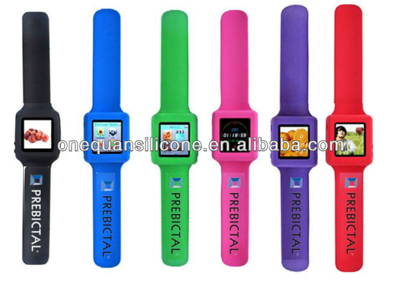 Fashion Digital Silikon Menampar MP4 Menonton Murah MP4 Watch