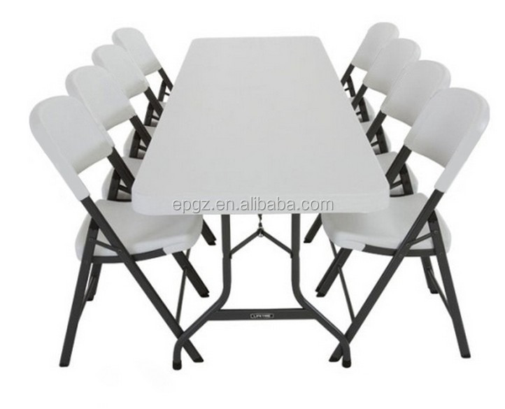 Metal Table And Chairs White Plastic