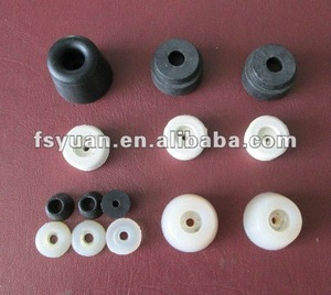 rubber feet for chair / Anti-skidding silicone rubber feet pieces/Natural silicone synthetic rubber products manufacturer