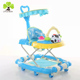 Factory direct supply 8 wheels baby walker / cheap baby walkers rubber wheel / baby walker stroller wiht safety belt