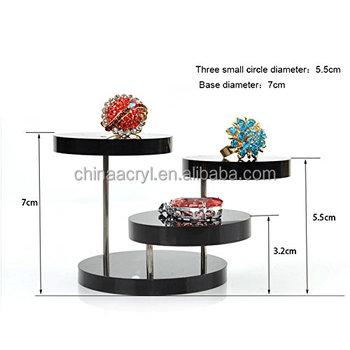Best Price Black Acrylicjwelry Organizer Jewelry Display Stand 3
